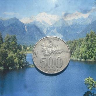 Индонезия 500рупий 2003г
