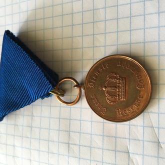 Медаль I мировой. Выслуга в Ландвере
