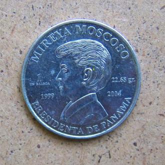 1 бальбоа 2004, Панама, юбилейная монета