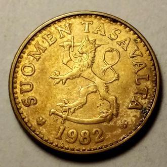 10 пенни 1982 года Финляндия !!! а2