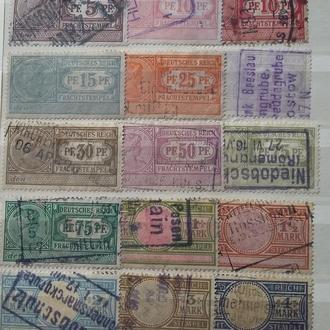 Не почтовые марки . Германия 15 шт