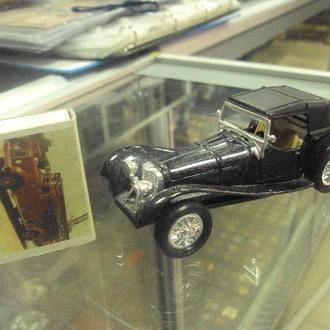 машинка jaguar ss 100 welly 1/43 с родной коробкой №10811