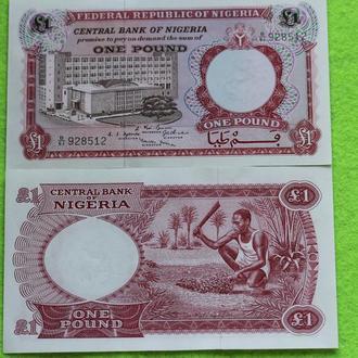 Нигерия 1 фунт UNC