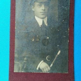 фото визитка. 1924 г