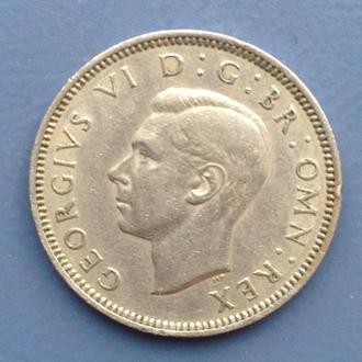 Великобритания, 1 шиллинг 1951 год