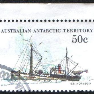 """Австралийские Антарктические территории (1979) Корабль """"Норвегия"""""""