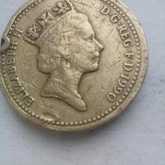 Монета Елизавета 2