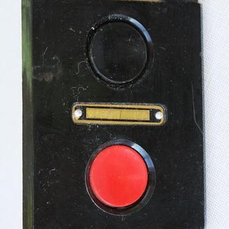 Выключатель кнопочный ПКЕ 112-2У3, СССР.