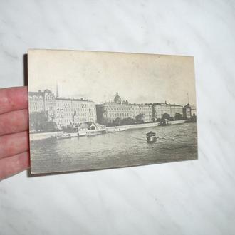 Ленинград. Набережная Рошаля и р.Нева 1927г.