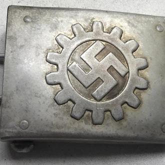 Ременная пряжка организации DAF - Deutsche Arbeitsfront. Алюминий (копия)