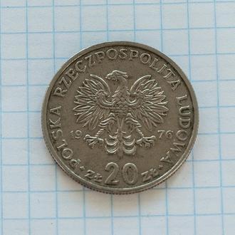 Польша 20 злотых Марцелий Новотко