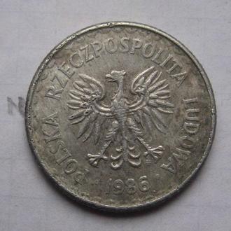 ПОЛЬША. 1 злотый 1976 года.