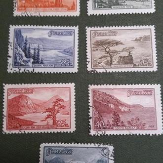 Марки 1959 Сибирь Алтай Байкал Крым