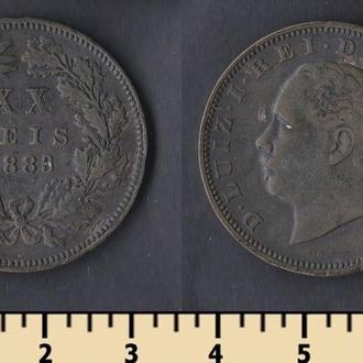 ПОРТУГАЛИЯ 20 РЕЙС 1883