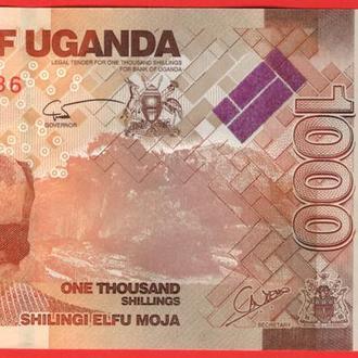 1000 Шиллингов 2010,(1,5) Уганда UNC