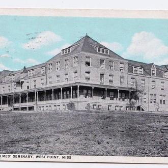 Архитектура .  США 1932 г - ПК - семинария - прошла почту