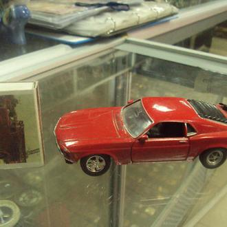 машинка welly ford mustang 1970 №9473