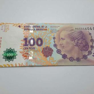 Аргентина. 100 песо  2012 год.