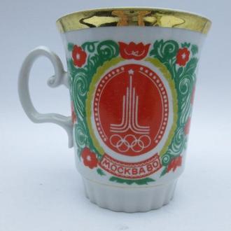 Чашка СССР Москва 80 Олимпиада