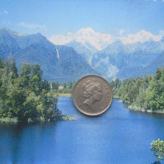 Англия 5 пенсов 1992 года