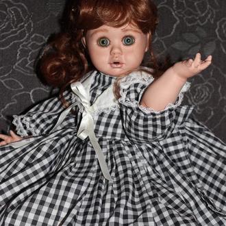 Коллекционная авторская фарфоровая кукла Kathleen молд Charlotte Nicks-baty лимит 99 шт 50 см