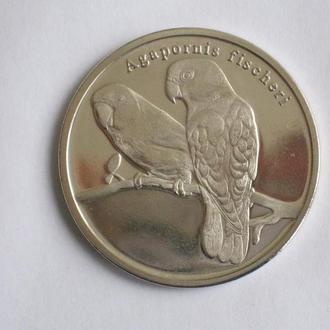 Сискей 5 ранд 2018 ПАПУГАЙ 2 монета серии