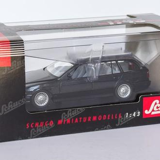 1:43 BMW 528i Touring, Schuco #04202 Germany, dark-gray metallic