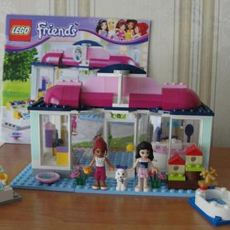 LEGO, лего, Friends, Спа-салон для питомцев, 41007
