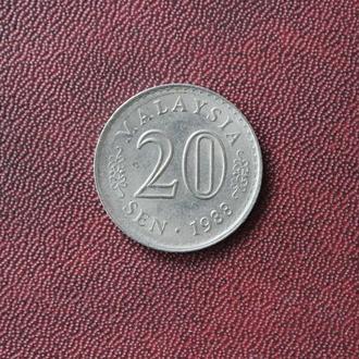 Малайзия, 20 сен. 1988г.