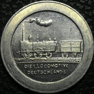 Германия НЮРНБЕРГ 100 пфеннигов 1921 РЕДКАЯ!!