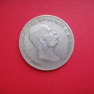 5 крон, Австро-Венгрия, 60 лет Франца-Иосифа, 1908