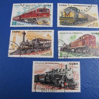Транспорт Потяги ЗД Локомотиви Куба 1975