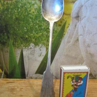 Серебряная десертная ложка 40 грамм 84 проба