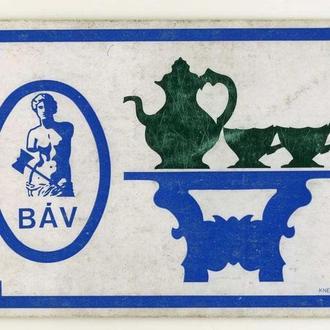 карманный календарик BAV 1970 г.