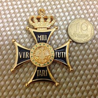 Знак ордена военного достоинства. Царский. Копия.