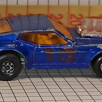 Matchbox rolomatics superfast 1973 # 10 Mustang Piston Popper 1:65 England