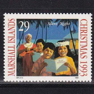Маршаллы 1993 г MNH - Рождество