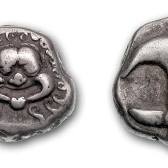 (А)3373 - Аполлония Понтийская (400—350 до н.э.) AR Драхма