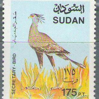 Судан 1991 птица