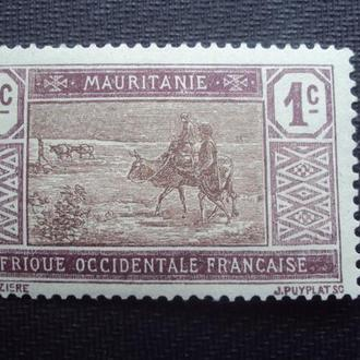 Мавритания.негаш. клей.