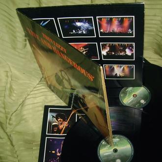 THIN LIZZY  LIVE AND DANGEROUS  1978  Vertigo GEMA  EX - / NM / NM
