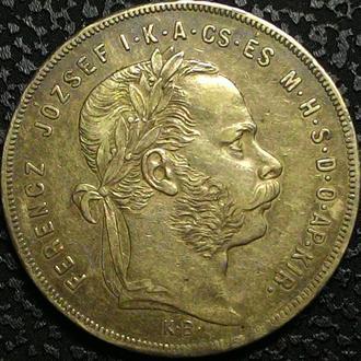 Австро -Венгрия  1 форинт 1879г. СЕРЕБРО! ОРИГИНАЛ!!!!!!!