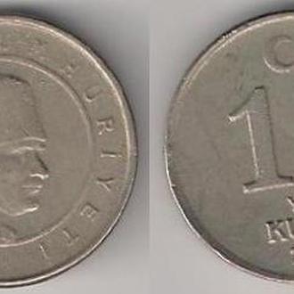 Турция 10 куруш  2005 г.