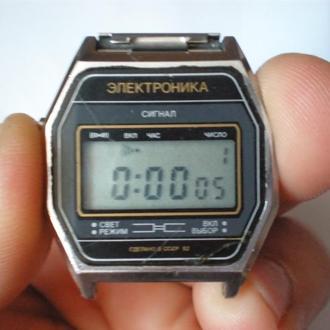 часы Электроника 5 сигнал рабочие 23023