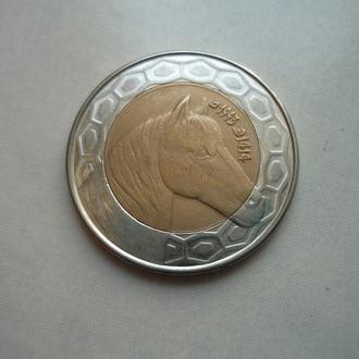 Алжир 100 динаров 1993 фауна биметалл