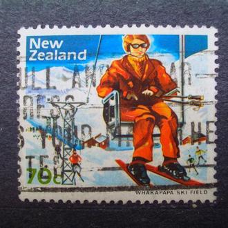 Новая Зеландия:1984г. Зимний спорт. Концовка серия.