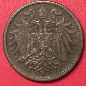 2 геллера  1912 год Австрия