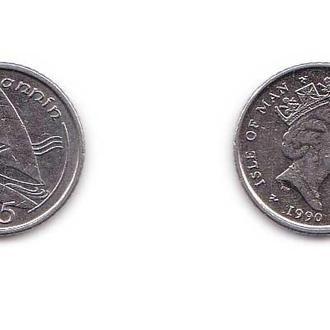 Мэн остров 5 пенсов 1990