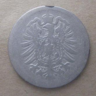 Германия 10 пфеннигов 1876 год