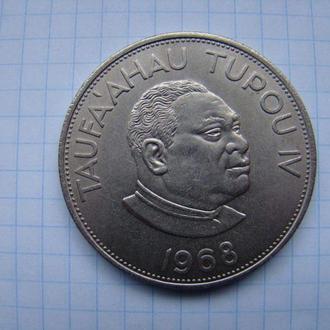 Королевство Тонга 2 паанга 1968 г.